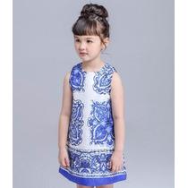 Vestido Para Niñas - Patatitas