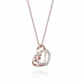 Collar Corazón Cristales Swarovski Elements - Joyas Mujer