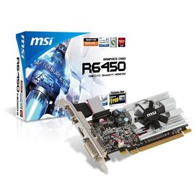 Placa De Video Msi Radeon Hd 6450 Pcie 2.0 1gb Ddr3 Mdq