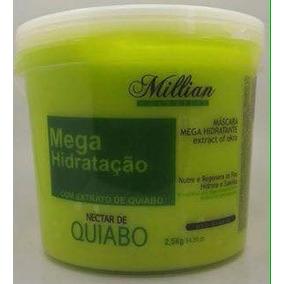 Máscara De Quiabo De 2.5 Kg + Brinde