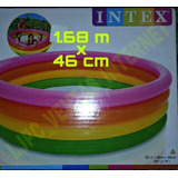 Piscina Inflable Para Niños Intex 1.68m X 46cm