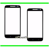Mica Vidrio Motorola Moto G4 Play Lente Glass Color Negro