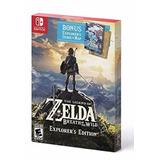 The Legend Of Zelda: Breath Of The Wild Explorer