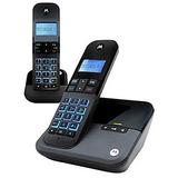 Motorola M4000ce-2 Telefo Inalmbrico Duo C/contestador Digit