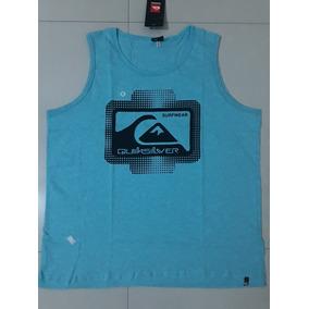 Camiseta Regata Quicksilver Surf Wear Lançamento 5c2f058ead9