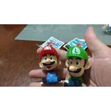 Mario Y Luigi Muñequitos Con Carta Nuevos Oem Sueltos