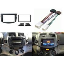 Kit Adaptador Frente Y Arnes Toyota Rav4 P/ Año 2006 A 2012