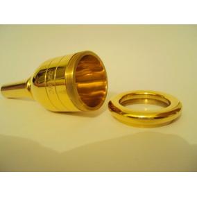 Bocal Jc Custom Tuba Sinfonica Bombardao Ultra 35 Banhado A
