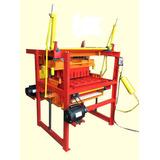Máquina Para Fabricar Blocos + Forma 14