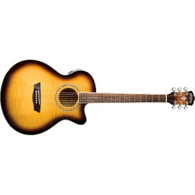 Guitarra Washburn Electro Acustica Ea-15 Salida Balanceada