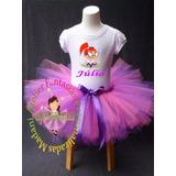 Fantasia Aniversário Infantil Miss Moon Luxo