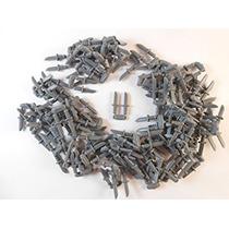Juguete Lego Daga Cuchillo Arma Porción De 50 Pc -dark Azul