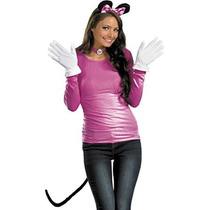 Morris Disfraces De Mujer Minnie Ratón Rosa Kit Para Adultos