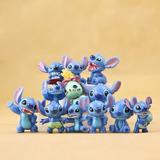 Stitch Mini Figuras Set 12 Piezas Coleccion Envio Gratis