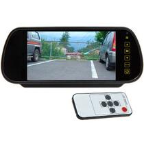Espelho Retrovisor Monitor Lcd De 7 - Yey-7088