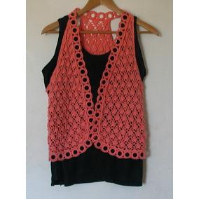 Chaleco Crochet Tejido Artesanal