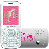 Celular Infantil Barbie Gradiente Rádio E Mp3 - C90 Barato