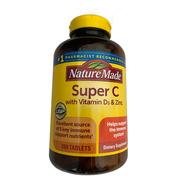 Nature Made Super C Vitamina C D3 Y Zinc