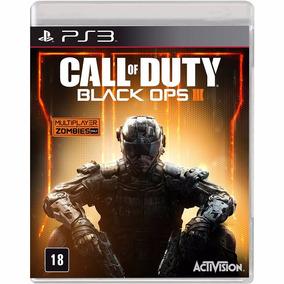 Call Of Duty Black Ops 3 Ps3 Mídia Física Novo Lacrado