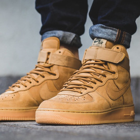 nike air max force 1 high flax