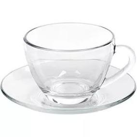 Xícara Cafézinho Duralex Astral Vidro Transp-0112 6 Unids