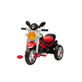 Paseador Bebe Triciclo Moto Trike Rojo