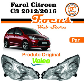 Par Farol Citroen C3 2012 2013 2014 2015 2016 Original Valeo