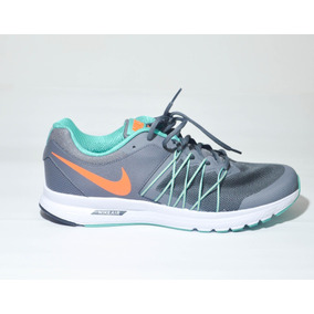Zapatilla Nike 45 Air Usa Color Gris Con Verde