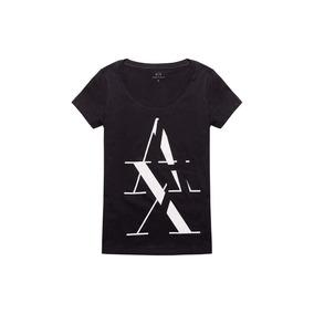 Remera Armani Exchange - Negra - 001