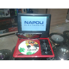 Dvd Portatil 7 Infantil Napoli