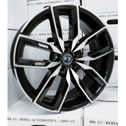 Jogo 4 Roda 18 5x108 Focus Fusion Titanium Volvo K67 Kr