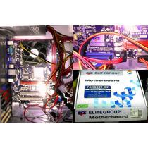 Motherboard Ecs P4m900t-m2 Socket 775 + Micro + Cooler