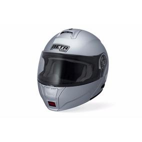 Capacete Vaz Prata Beta Series Lp01 Articulado 58