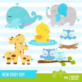 Kit Imprimible Nuevo Bebe Nene Baby Shower 4 Imagenes Clipar
