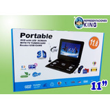 Reproductor Dvd Portable 11 Multiformato