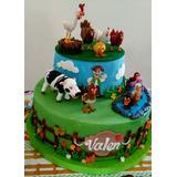 Tortas Infantiles Decoradas Panaderia Y Reposteria Tortas En - Decoracion-de-tortas-infantiles