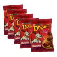 Kit 5 Doguitos Linguicinha Petisco Para Cachorro 45g
