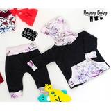Conjunto Bebe Ropa Happybaby.ve Vintage P29 Niña Set Sweters