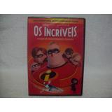 Dvd Duplo Original Os Incríveis- Lacrado De Fábrica