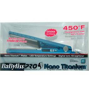 Chapinha Nano Titanium Babyliss Profissional Bivolt