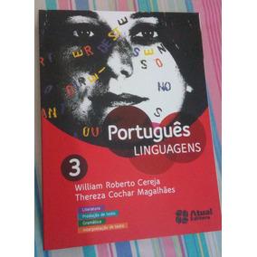 Livro Português Linguagens 3 - Editora Atual - Ens. Médio