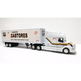 Trailer Volvo Vn-780 Castores Esc. 1:32 New Ray