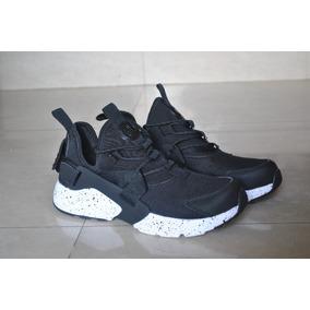 Zapatos negros Nike Huarache para mujer U5UxK0