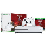 Xbox One S 1tb Halo Wars + 12 Meses Live Gold
