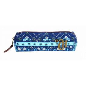 Estojo Escolar Capricho Etnic Blue 10994 Original