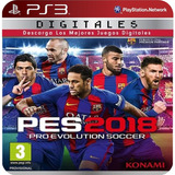 Pro Evolution Soccer 2018 Ps3 (7gb) Licencia Digital