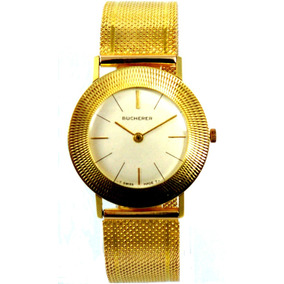 Bucherer - Ouro 18 Kt - Masculino - Manual