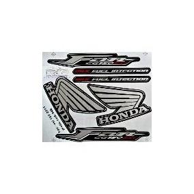 Adesivo Honda Fan Cg 150 Esi Mix Preta 2011 - Frete R$9.90