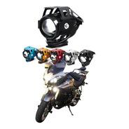 Faro Lupa Led Cree Moto Universal Tres Pasos Estrobo U5 125w