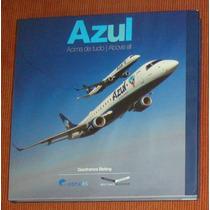 * Avião - Livro Azul Linhas Aereas - Azul Acima De Tudo